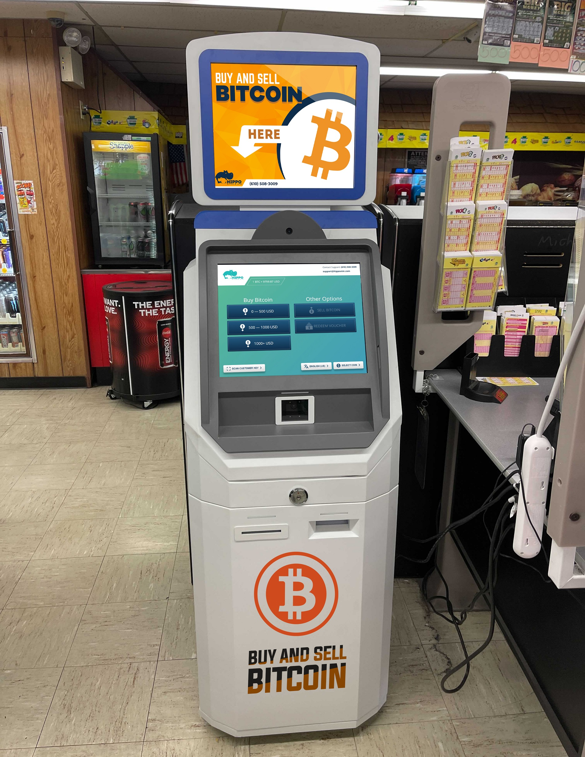 Bitcoin ATM Whitehall PA by Hippo ATM buy bitcoin instantly
